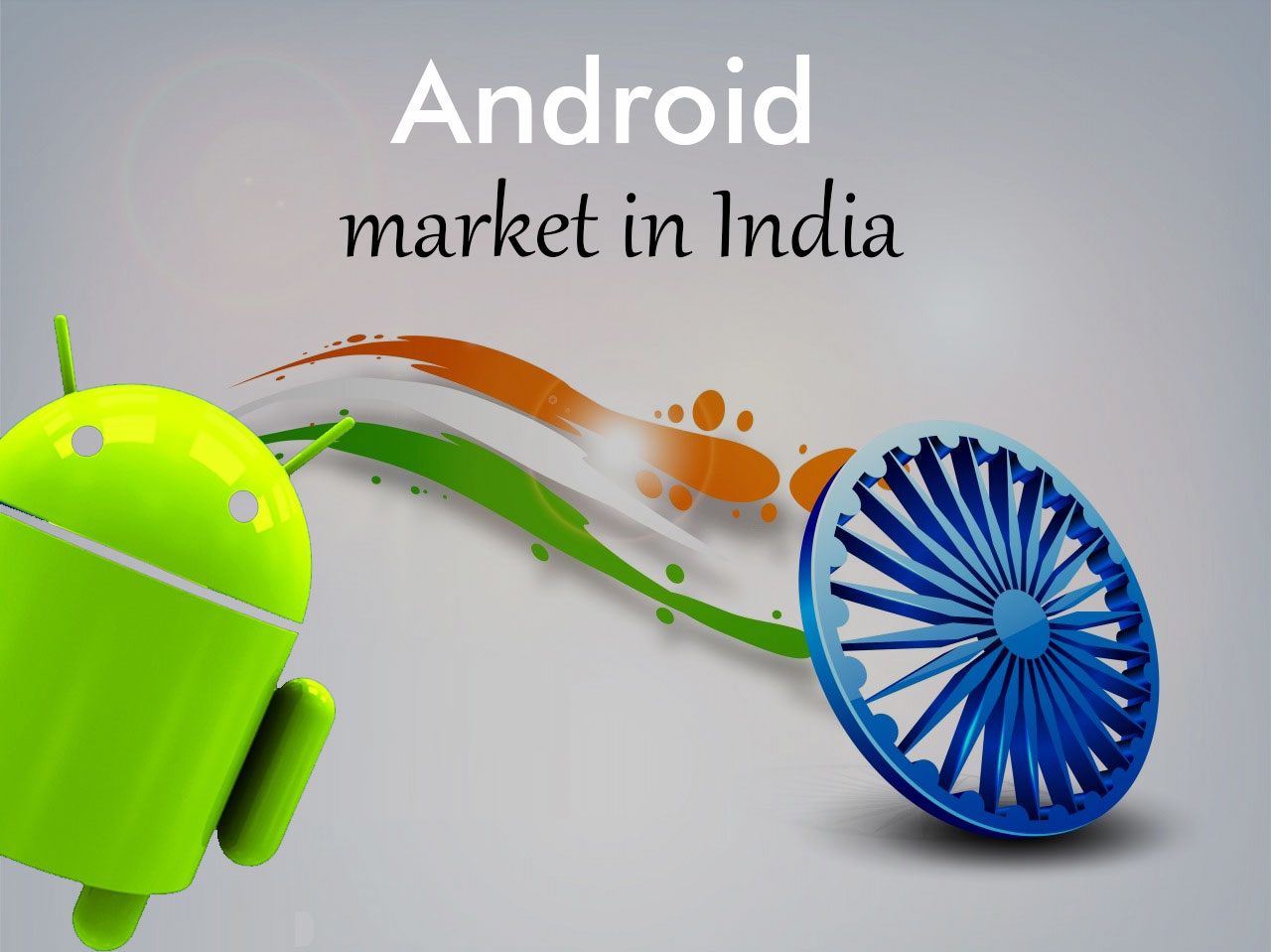 Android market in India