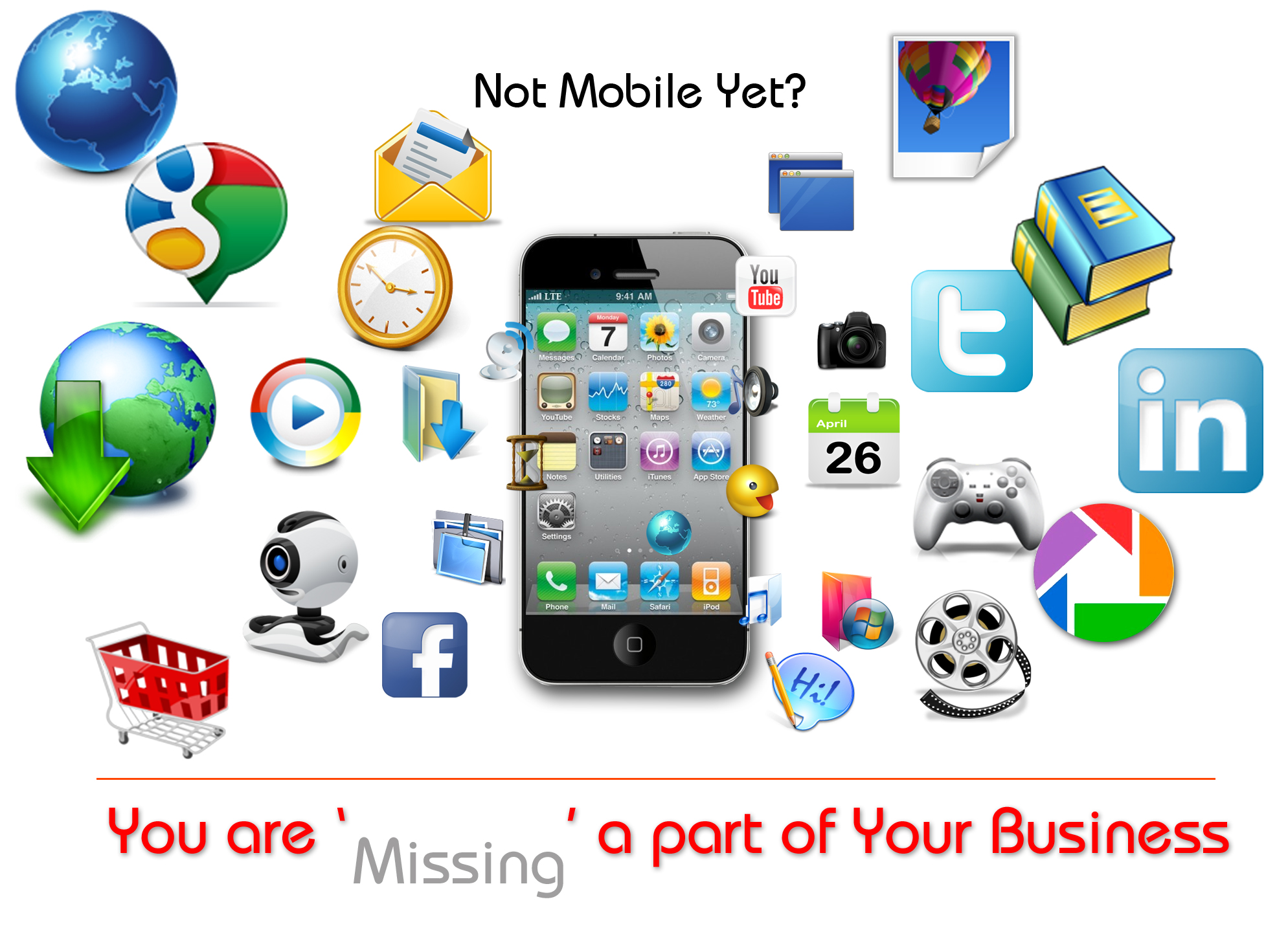 Is your Business not on Mobile yet? Don't worry, we tell you how to?